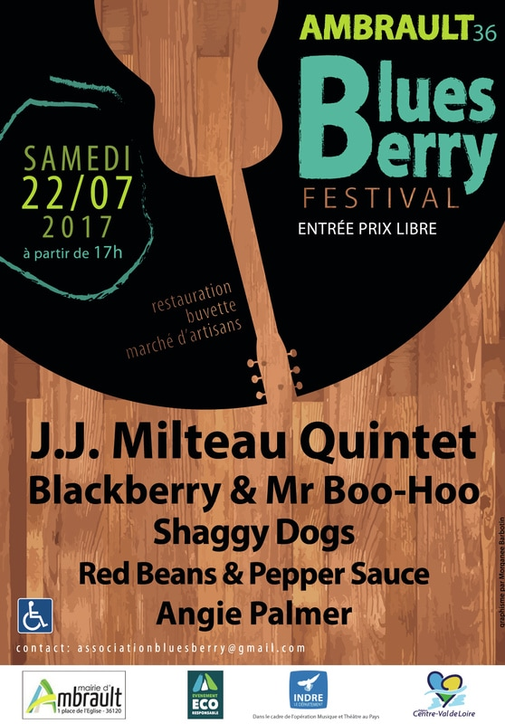 Festival Blues Berry