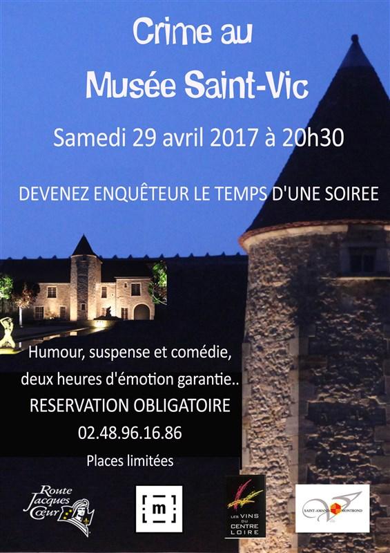 affiche crime mus+®e saint-vic 29 avril 2017