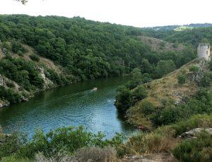 aperçu du lac d'Eguzon