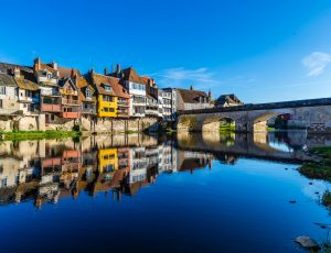 Argenton maison galerie et vieux pont