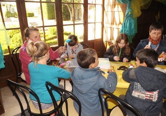 atelier enfant – chateau azay – PNR Brenne