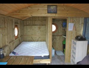 Cabane du pêcheur Etang Duris