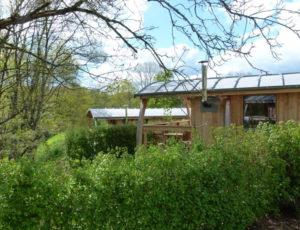 Cabanes en bois Camping le Valvert La Châtre
