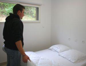 chambre 1 lit couple