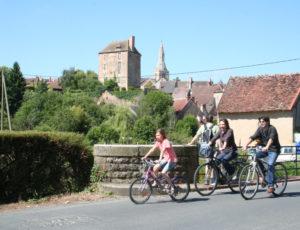 circuit vélo la Châtre