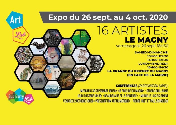 Exposition Art Lab Le Magny