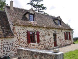 Maison berrichonne au coeur de la Brenne