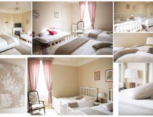 chambre 2 lits doubles