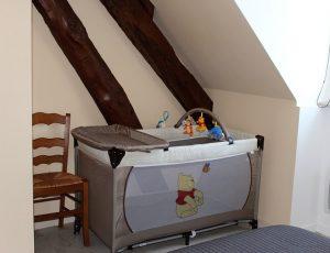 lit bébé – chambre 1