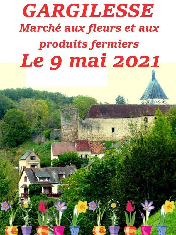 marché aux fleurs 9 mai 2021