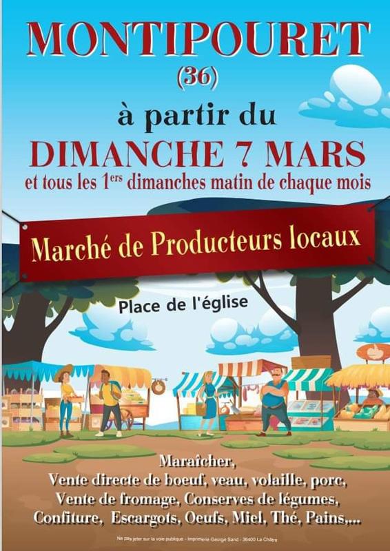 marchés Montipouret