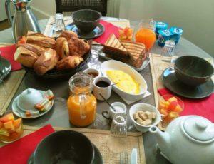 noirlac b&B petit déjeuner