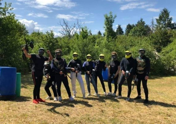 paintball venesmes berry loisirs equipe team