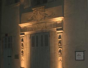 Parcours lumières fenêtre illuminée, Tourisme Coeur de France