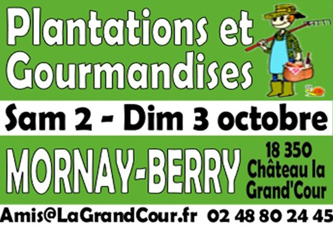 plantations et gourmandises 2021 mornay-berry