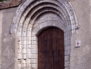 portail St pere la none Sancerre Photo Editions Gaud