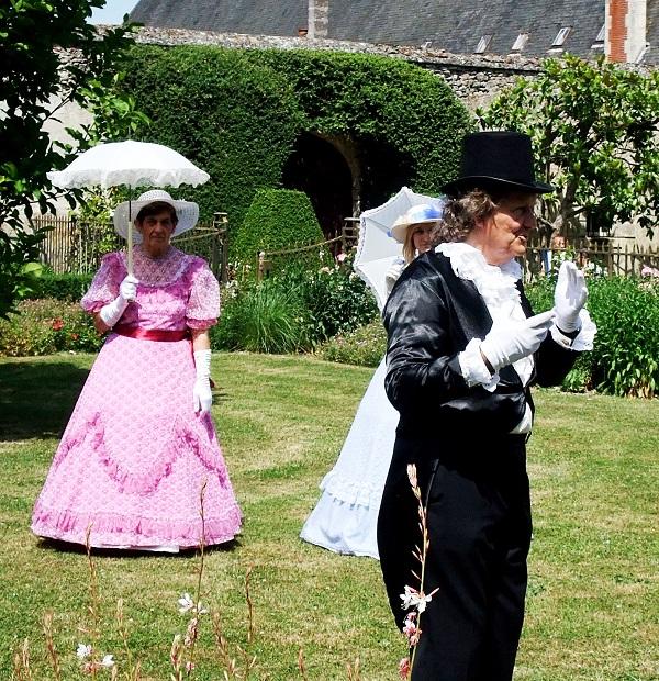 promenade-jardin – Château Azay – PNR Brenne