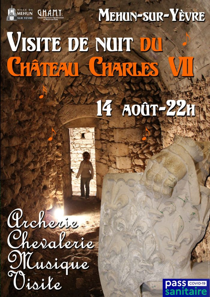 visite de nuit du chateau