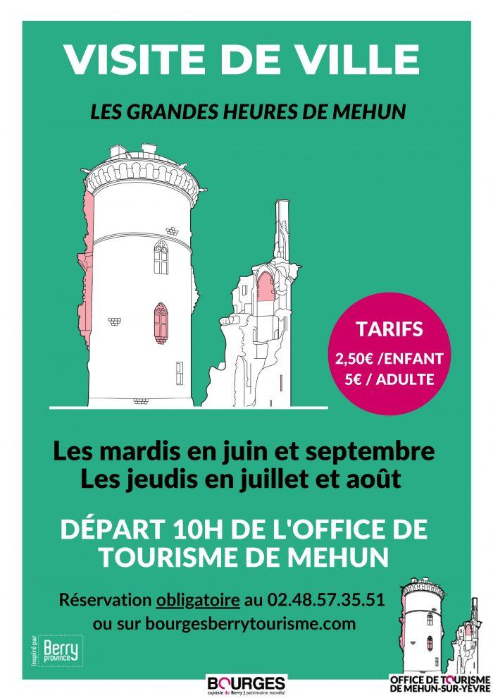 visite ville Mehun 2020