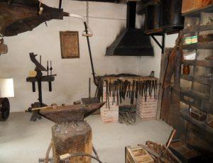 vue d'un des ateliers la forge