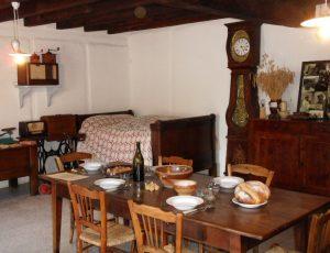 vue de l'intérieur de la maison d'habitation